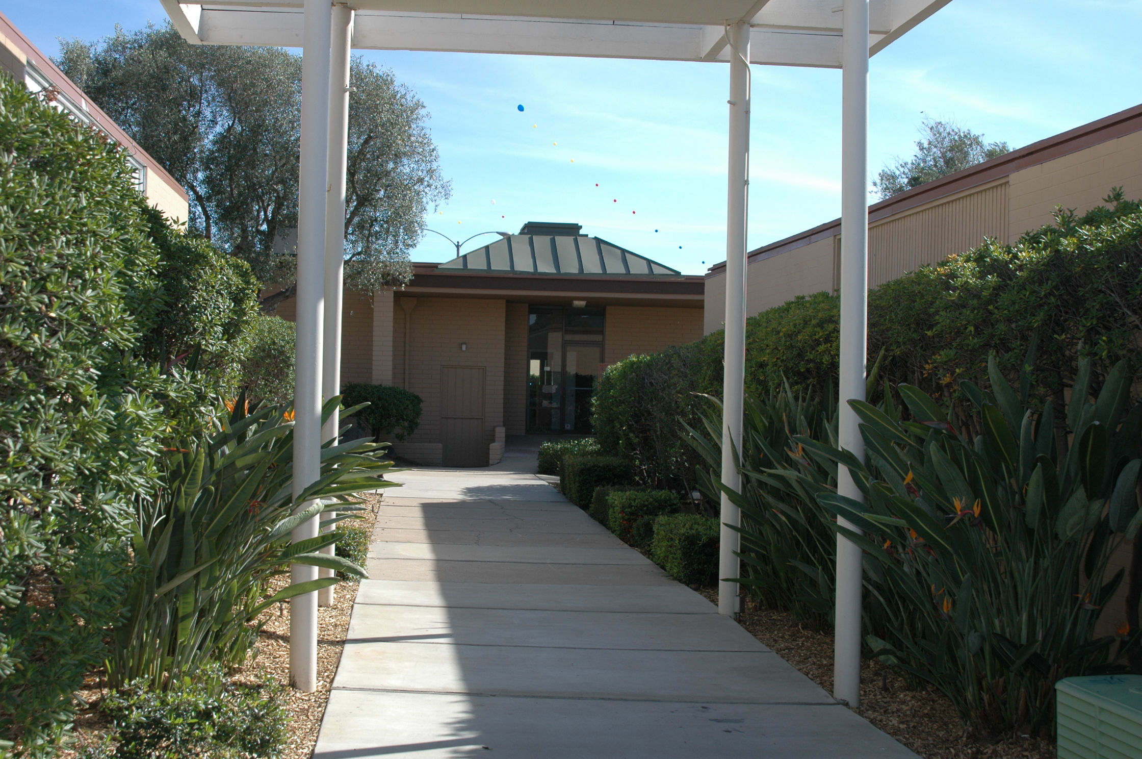 Prayer Center Entrance